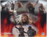 "Ben Davidson Signed 11x14 ""Conan the Barbarian"" Photo Inscribed ""Rexor"" (Pro Player Hologram) at PristineAuction.com"