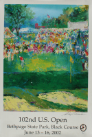 "Leroy Neiman Signed ""102nd U.S Open Golf"" 24x36 Print (JSA COA) at PristineAuction.com"