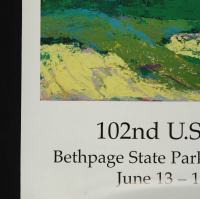 "Leroy Neiman Signed ""102nd U.S Open Golf"" 24x36 Print (JSA COA) at PristineAuction.com"