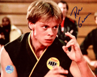 """Rob Garrison Signed """"The Karate Kid"""" 8x10 Photo (Pro Player Hologram) at PristineAuction.com"""