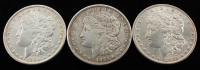 Lot of (3) Morgan Silver Dollars with 1885, 1900 & 1921-D at PristineAuction.com