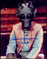 "Maria De Aragon Signed ""Star Wars"" 8x10 Photo Inscribed ""Greedo"" (JSA COA) at PristineAuction.com"