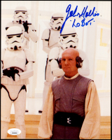"John Hollis Signed ""Star Wars"" The Empire Strikes Back"" 8x10 Photo Inscribed ""Lobot"" (JSA COA) at PristineAuction.com"