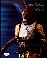 "Alan Harris Signed ""Star Wars: Episode V – The Empire Strikes Back"" 8x10 Photo Inscribed 'Bossk"" (JSA COA) at PristineAuction.com"