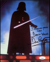 "Dave Prowse Signed ""Star Wars"" 8x10 Photo Inscribed ""I Should Have Won! Darth Vader"" (JSA COA) at PristineAuction.com"