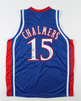 """Mario Chalmers Signed Jersey Inscribed """"08 Champs"""" (JSA Hologram) at PristineAuction.com"""