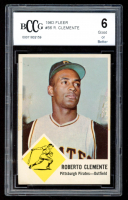 Roberto Clemente 1963 Fleer #56 (BCCG 6) at PristineAuction.com