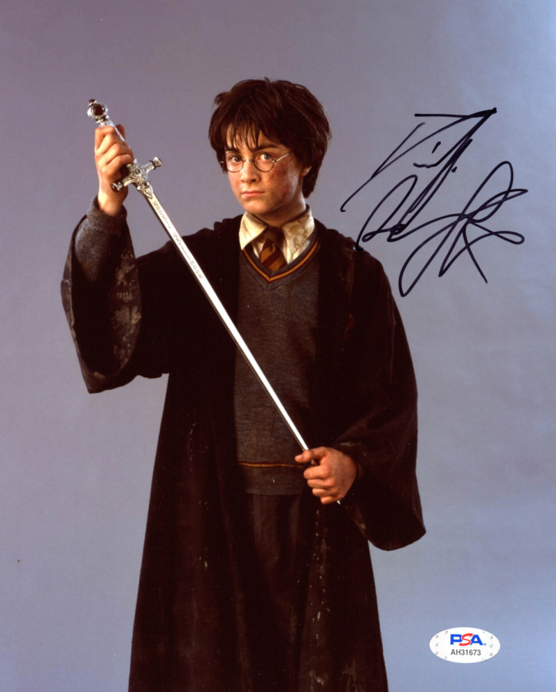 "Daniel Radcliffe Signed ""Harry Potter & the Chamber of Secrets"" 8x10 Photo (PSA Hologram) at PristineAuction.com"