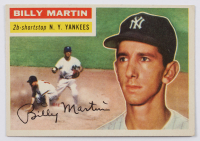 Billy Martin 1956 Topps #181 at PristineAuction.com