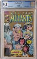 """1990 """"The New Mutants"""" Issue #87 Second Print Marvel Comic Book (CGC 9.8) at PristineAuction.com"""