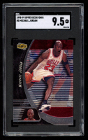 Michael Jordan 1998-99 UD Ionix #5 (SGC 9.5) at PristineAuction.com