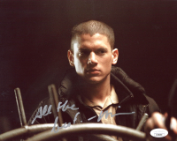 "Wentworth Miller Signed ""The Flash"" 8x10 Photo Inscribed ""All The Best"" (JSA COA) at PristineAuction.com"