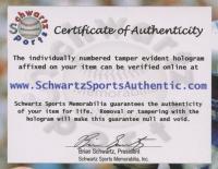 "Jennie Finch Signed 8x10 Photo Inscribed ""USA"" (Schwartz COA) at PristineAuction.com"