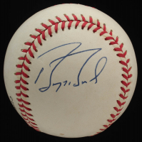 Barry Bonds Signed ONL Baseball (JSA COA) at PristineAuction.com