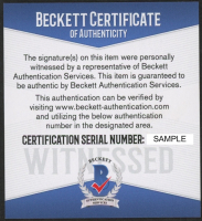 "Millie Bobby Brown Signed Jersey Inscribed ""011"" (Beckett COA) at PristineAuction.com"