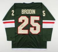 Jonas Brodin Signed Jersey (Beckett COA) at PristineAuction.com