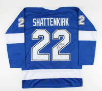 Kevin Shattenkirk Signed Jersey (Beckett COA) at PristineAuction.com