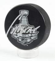 Craig Berube Signed 2019 Stanley Cup Final Hockey Puck (Beckett COA) at PristineAuction.com