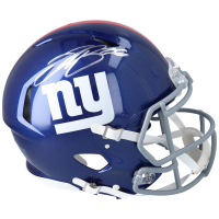 Saquon Barkley Signed Giants Full-Size Authentic On-Field Speed Helmet (Fanatics Hologram) at PristineAuction.com