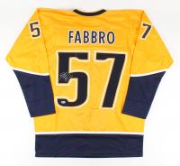 Dante Fabbro Signed Jersey (Beckett COA) at PristineAuction.com