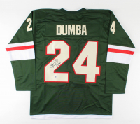 Matt Dumba Signed Jersey (Beckett COA) at PristineAuction.com
