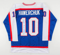 """Dale Hawerchuk Signed Jersey Inscribed """"HOF 01'"""" (Beckett COA) at PristineAuction.com"""
