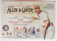 2020 Topps Allen & Ginter Baseball Blaster Box with (8) Packs at PristineAuction.com