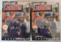 Lot of (2) 2020 Topps Stadium Club Baseball Blaster Box with (8) Packs at PristineAuction.com
