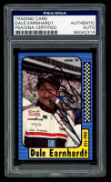 Dale Earnhardt Signed 1991 Maxx #220 All Pro (PSA Encapsulated) at PristineAuction.com