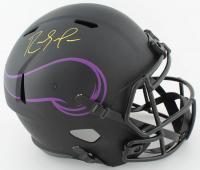 Randy Moss Signed Vikings Full-Size Eclipse Alternate Speed Helmet (Schwartz COA) (See Description) at PristineAuction.com