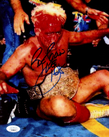 """Ric Flair Signed WWE 8x10 Photo Inscribed """"16x"""" (JSA COA) at PristineAuction.com"""