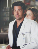 "Patrick Dempsey Signed ""Grey's Anatomy"" 11x14 Photo (JSA COA) at PristineAuction.com"