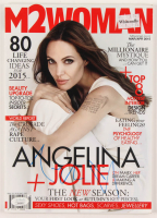 Angelina Jolie Signed 2015 M2WOMAN Magazine (JSA COA) at PristineAuction.com