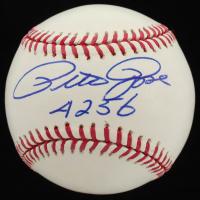 "Pete Rose Signed OML Baseball Inscribed ""4256"" (JSA COA) at PristineAuction.com"