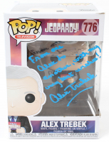 "Alex Trebek Signed ""Jeopardy"" #776 Funko Pop! Vinyl Figure with Extensive Inscription (PSA Hologram) at PristineAuction.com"