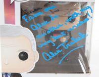 "Alex Trebek Signed ""Jeopardy"" #776 Funko Pop! Vinyl Figure with Extensive Inscription (PSA Hologram) at PristineAuction.com"