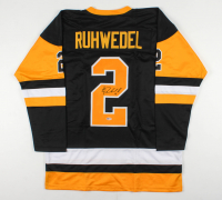 Chad Ruhwedel Signed Jersey (Beckett COA) at PristineAuction.com