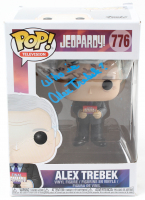 "Alex Trebek Signed ""Jeopardy"" #776 Funko Pop! Vinyl Figure Inscribed ""Who is?"" (PSA Hologram) at PristineAuction.com"