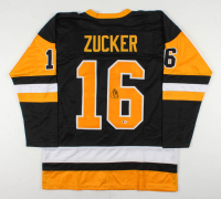 Jason Zucker Signed Jersey (Beckett COA) at PristineAuction.com
