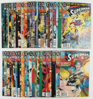 "Lot of (53) 1986-1997 ""Superman"" DC Comic Books With Issue #78, #30, #542, #702 at PristineAuction.com"