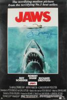 "Richard Dreyfuss Signed ""Jaws"" 24x36 Movie Poster (JSA COA) at PristineAuction.com"