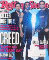 Mark Tremonti, Brian Marshall & Scott Phillips Signed Creed 11x14 Photo (PSA Hologram) at PristineAuction.com