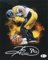 Hines Ward Signed Steelers 8x10 Photo (Beckett COA) at PristineAuction.com