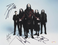 "Korn Band-Signed 11x14 Photo with James ""Munky"" Shaffer, Brian ""Head"" Welch, Ray Luzier, Jonathan Davis & Reginald Arvizu (PSA Hologram) at PristineAuction.com"