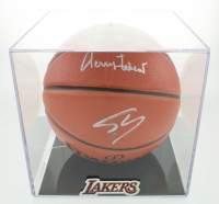 Shaquille O'Neal & Jerry West Signed NBA Game Ball Series Basketball (PSA COA) at PristineAuction.com