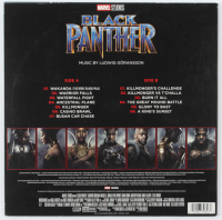 "Chadwick Boseman Signed ""Black Panther"" Soundtrack Vinyl Record Album (PSA Hologram) at PristineAuction.com"