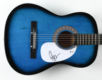 "Pete Wentz Signed 38"" Acoustic Guitar (Beckett COA) at PristineAuction.com"