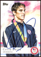 Conor Dwyer Signed 2012 Topps U.S. Olympic Team #28 (JSA COA) at PristineAuction.com