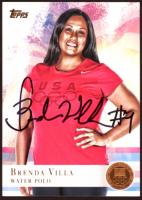 Brenda Villa Signed 2012 Topps U.S. Olympic Team #12 (JSA COA) at PristineAuction.com
