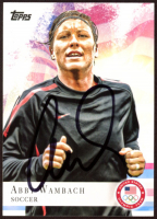 Abby Wambach Signed 2012 Topps U.S. Olympic Team #93 (JSA COA) at PristineAuction.com